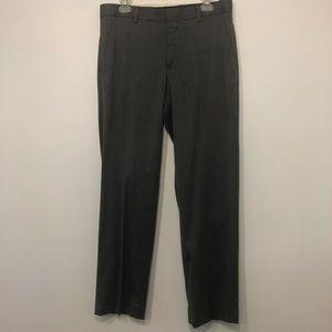 J. Ferrar Men's Gray Suit Pants Slim Fit